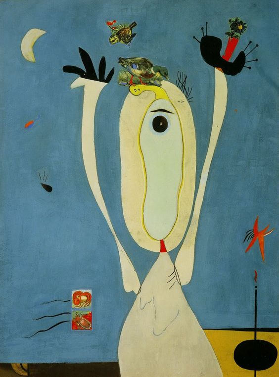 Metamorphosis - Joan Mirò, 1936